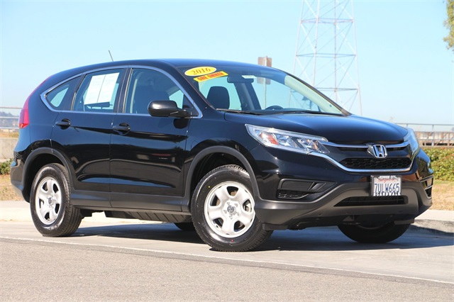Honda Redwood City >> Pre Owned 2016 Honda Cr V Lx