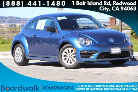 Certified Pre-Owned 2018 Volkswagen Beetle 2.0T S